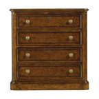 Stanley Furniture - Arrondissement Montmartre Lateral File - Heirloom Cherry - Part of Paris' Right Bank, Montmartre is a famed artists' community and home to the Basilica of the Sacr� C?ur. Because even artists must store important papers, we bring you the Montmartre Lateral File. With its two locking drawers, the file is a functional addition to any office. But functionality shouldn't supplant beauty. The design's Heirloom Cherry finish and genuine brass knobs elevate the file, making it an artistic addition to any office. Made to order in America.