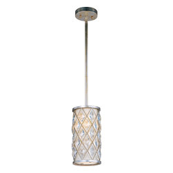 Maxim Lighting - Maxim Lighting 91450OFGS Diamond 1-Light Mini Pendant - Maxim Lighting 91450OFGS Diamond 1-Light Mini Pendant