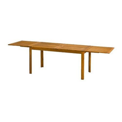 ÄPPLARÖ Drop-leaf table - Drop-leaf table, acacia