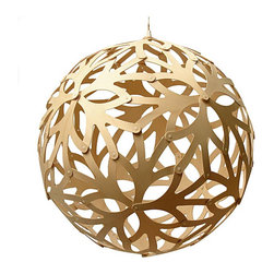 David Trubridge Floral - Natural - A design inspired by a flower, the David Trubridge Floral - Natural Pendant Light truly celebrates the beauty of nature.
