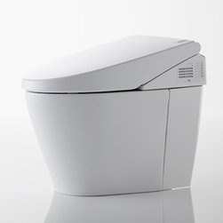 Toto - Neorest 550H One-Piece High-Efficiency Toilet | Toto - Made by TOTO USA.A part of the Neorest Collection. The new Neorest 550H One-Piece High-Efficiency Toilet possesses all of the ground-breaking comfort and hygienic functions expected from a multi-functional toilet combined with an advanced, water-saving dual flushing system. The Neorest 550H is a truly remarkable combination of ecology and luxury. Features: