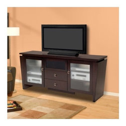 Shop Floating Entertainment Console - ECO GEO Espresso Products on Houzz