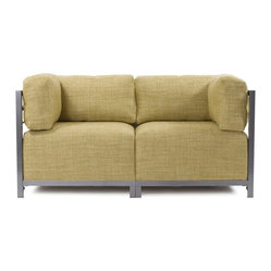 Coco Axis 2pc Sectional - Titanium Frame