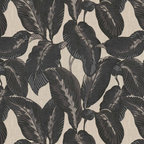 Elephant Ears Fabric by Robert Allen - This fabric isa bold botanical in all its spendor.