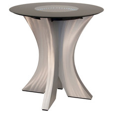 Modern Bistro Tables by Lighting Front