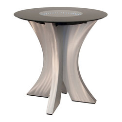 Nova Lighting - Nova Lighting 7310120 Stealth Bistro Table - Nova Lighting 7310120 Stealth Bistro Table