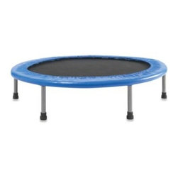 """Bravo Sports - Variflex 38-Inch Mini Band Trampoline - Combine fitness and fun with this 38"""" diameter trampoline boasting a durable design and proven band technology. Safe elastic bands replace noisy metal springs and make assembly even easier."""