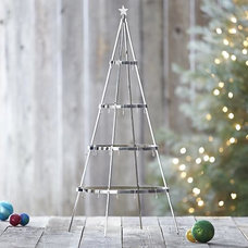 Contemporary Christmas Decorations by Crate&Barrel