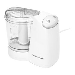 HAMILTON BEACH/PROCTOR SILEX - 3-Cup 2-Speed Food Chopper - Hamilton beach fresh chop food chopper