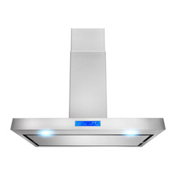 None - AKDY 36-inch OSWRH627PS2-36-AK Stainless Steel Wall Mount Range Hood - Designed of brushed stainless steel,this traditional Italian design chimney hood will be the main focal point for your kitchen. Brilliant LED lighting provides impressive illumination over and around the cook top.