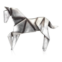 Origami Horse - I always like adding one or two unique pieces in my office to keep my mind intrigued. This origami horse would do just the trick (and make for a perfect paperweight too).