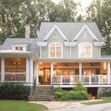 Traditional Exterior by Hug & Associates Architects