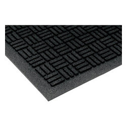 buyMATS Inc. - 4' x 6' Tire Tuff Mission Mat Black - Great for outside entrances, the TireTuff Mission is extra rugged and hard working.