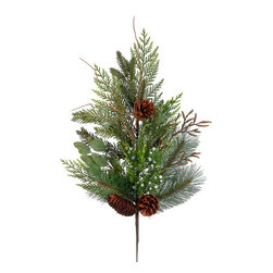 Silk Plants Direct - Silk Plants Direct Pine Cone, Juniper and Pine (Pack of 12) - Pack of 12. Silk Plants Direct specializes in manufacturing, design and supply of the most life-like, premium quality artificial plants, trees, flowers, arrangements, topiaries and containers for home, office and commercial use. Our Pine Cone, Juniper and Pine includes the following: