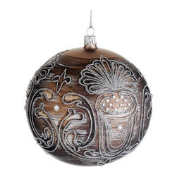 Silk Plants Direct - Silk Plants Direct Jewel Glass Ball Ornament (Pack of 2) - Silk Plants Direct specializes in manufacturing, design and supply of the most life-like, premium quality artificial plants, trees, flowers, arrangements, topiaries and containers for home, office and commercial use. Our Jewel Glass Ball Ornament includes the following: