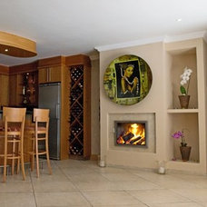 Contemporary Indoor Fireplaces by Biofire Fireplaces, Cape Town, South Africa