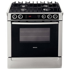 contemporary gas ranges and electric ranges by Bosch