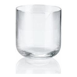 Alessi - Alessi 'All-Time' Water Tumbler, Set of 4 - Add these classic crystalline glass tumblers to your table. They'll make every sip a pleasure and elevate your everyday to a whole new level.