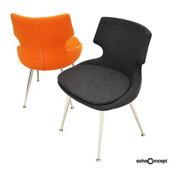 Soho Concept Patara Dining Chair - Soho Concept Patara Chrome Dining Chair