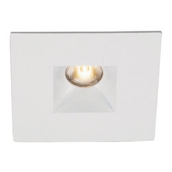 "WAC Lighting - 2"" LEDme Recessed Square Downlight, Hr-Led251e-Wt - 2"" LEDme Recessed Square Downlight"