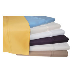 Bed Linens - Cotton Rich 1000 Thread Count Solid Sheet Sets King Stone - A superior blend of materials makes these sheets soft, easy to care for and wrinkle resistant. Enhance any bedroom decor with this 1000 thread count Cotton Rich sheet set. Each sheet set is made of 55% Cotton and 45% Polyester.  (Matching Duvet Cover Sets Sold Separately)!