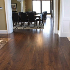 Modern Hardwood Flooring by Wide Plank Hardwood Inc.
