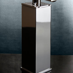 Table soap dispenser with Swarovski crystal and more - Made in Spain.