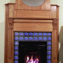 Mantels - Wood mantel for a client.