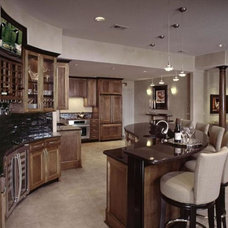 Traditional Basement by Design Connection, Inc