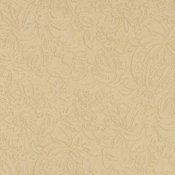 Gold Large Scale Floral Woven Matelasse Upholstery Grade Fabric By The Yard - This material is great for indoor upholstery applications. This Matelasse is rated heavy duty, and is upholstery weight. It is woven for enhanced appearance.