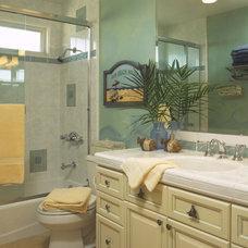 Tropical Bathroom by Kristin Lam Interiors