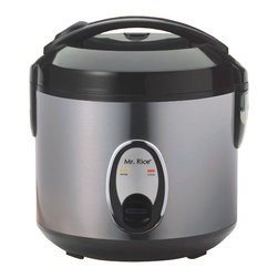 SPT - SPT 6 Cups Rice Cooker with Stainless Body 5.5 / 6 lbs From Vistastores - •Product Type