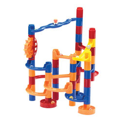 The Original Toy Company - The Original Toy Company Marble Maze - Our Marble Maze is the ultimate intriguing set in Marble Runs, all of these bright colored pieces all connect together to make endless runs for your 10 Marbles. Packed in a full retail box. Ages 4-8 years plus. Weight: 5 lbs.