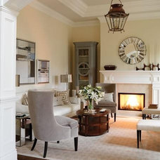 Traditional Living Room by Nisah Living