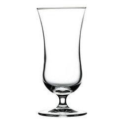 Hospitality Glass - 6H x 2 3/4T x 2 3/4B 8.25 oz Mini Hurricane Glasses 48 Ct - 8.25 oz Mini Hurricane