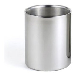 Brilliant Double-walled Stainless Steel Small Drinking Glass/Water Tumbler - These are great for kids because they're durable and won't break when falling on the floor. I prefer the metal over plastic, and it makes sense to have these when the babies are learning to drink from a cup.