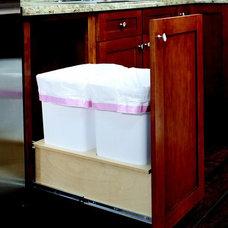 Recycling Bins by ShelfGenie of Greenville