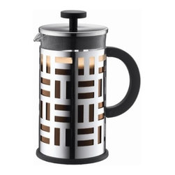 Bodum Eileen French Press - Sur La Table - This French Press was designed in honor of one of my favorite designers, Eileen Gray. Personally, I don't think coffee ever tastes better than it does from a French Press. Help turn your friends onto the Parisian way of making coffee.