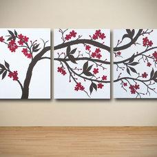 Asian Artwork by Sarah Schmid Designs