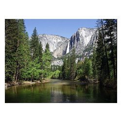"""Yosemite Valley Falls Art Photo National Parks, Limited Edition, Photograph - """"Yosemite Valley Falls by Michael Verlangieri. Limited to 25 prints, each print is hand signed and numbered by the artist. The image is printed """"""""Giclee"""""""" on special imported photographic paper. The image size is 21.5 x 28 inches. The paper size is 24 x 30 inches. The image is printed using specially engineered ink technology for optimum image quality and over 100 years of lightfastness. FREE shipping in the USA"""""""