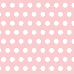 Murals Your Way - Petal Polka Dots Wall Art - Painted by Simon & Kabuki, Petal Polka Dots wall mural from Murals Your Way will add a distinctive touch to any room