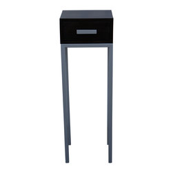Mortise & Tenon - Martel Side Table - A very unique and tall modern side table.