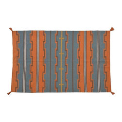 1800-Get-A-Rug - Reversible Flat Weave Hand Woven Navajo Design Sh8263 - About Flat Weave