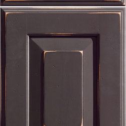 """Dura Supreme Cabinetry - Dura Supreme Cabinetry Bella Cabinet Door Style - Dura Supreme Cabinetry """"Bella"""" cabinet door style in Maple shown in Dura Supreme's """"Country Traditions M"""" finish. The Country Traditions finish collection is now discontinued."""
