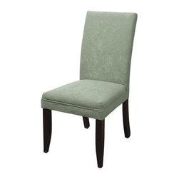 Bassett Mirror - Cappuccino Wood Leg Classic Parsons Chair - Cappuccino Wood Leg Classic Parsons-SU Chair by Bassett Mirror