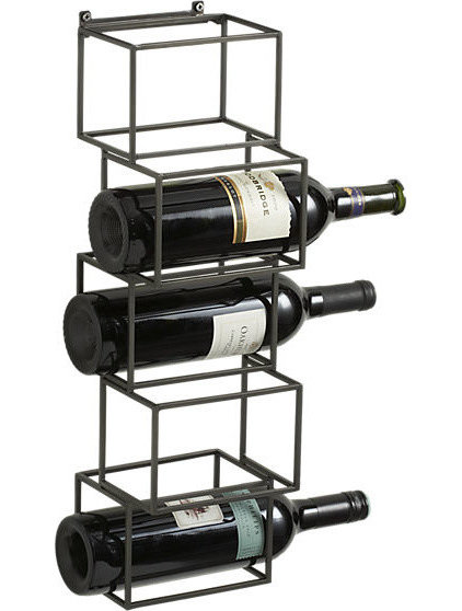 contemporary wine racks by CB2