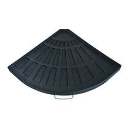 Bond - Bond 60479A Sector Base Black - The Gaelen Umbrella base combines a timeless design with the versatility of environmentally friendly materials. The umbrella base is 100% rust proof so you'll never need to worry about it staining your deck or patio.