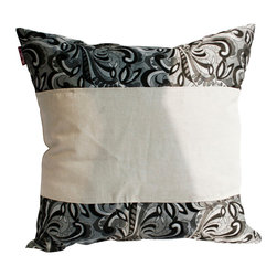 Blancho Bedding - [Romantic Date] Linen Patch Work Pillow Floor Cushion (19.7 by 19.7 inches) - Aesthetics and Functionality Combined. Hug and wrap your arms around this stylish decorative pillow measuring 19.7 by 19.7 inches, offering a sense of warmth and comfort to home buddies and outdoors people alike. Find a friend in its team of skilled and creative designers as they seek to use materials only of the highest quality. This art pillow by Onitiva features contemporary design, modern elegance and fine construction. The pillow is made to have invisible zippers, linen shells and fill-down alternative. The rich look and feel, extraordinary textures and vivid colors of this comfy pillow transforms an ordinary, dull room into an exciting and luxurious place for rest and recreation. Suitable for your living room, bedroom, office and patio. It will surely add a touch of life, variety and magic to any rooms in your home. The pillow has a hidden side zipper to remove the center fill for easy washing of the cover if needed.