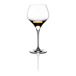 Riedel - Riedel Vitis Oaked Chardonnay set of 2 Wine Glassses - Think clink! Nothing says luxury like lead crystal, and this pair of glasses, designed expressly for Chardonnay, is sure to make every sip a special pleasure.