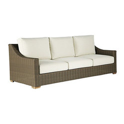 Ballard Designs Sutton Sofa Off White Cushions
